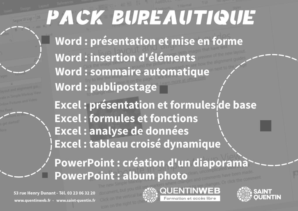 affiche_Pack_bureautique_2019
