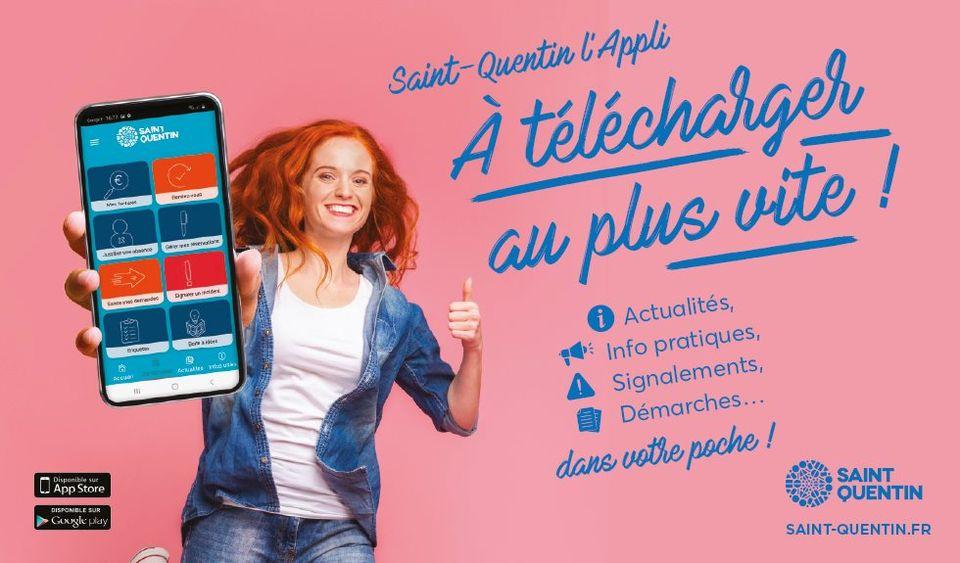 Saint-Quentin l'application